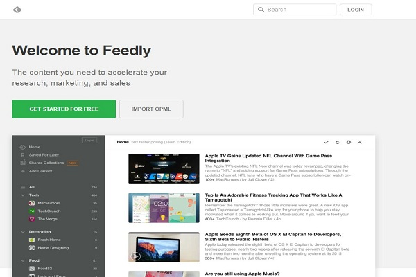 Image result for Blog reading and content discovery tool